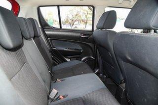 2015 Suzuki Swift FZ MY15 GL Navigator Red 4 Speed Automatic Hatchback