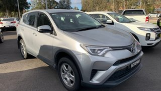 2017 Toyota RAV4 ZSA42R GX 2WD Silver 7 Speed Constant Variable Wagon
