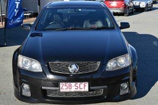 2010 Holden Commodore VE II SS-V Black 6 Speed Manual Sedan.