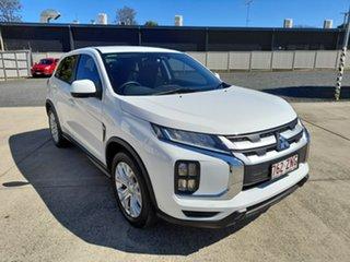 2019 Mitsubishi ASX XC MY19 ES 2WD White 1 Speed Automatic Wagon.