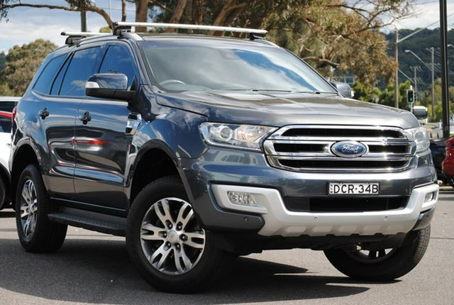 Used Ford Everest UA Trend West Gosford, 2015 Ford Everest UA Trend Grey 6 Speed Sports Automatic SUV