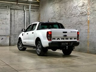 2021 Ford Ranger PX MkIII 2021.25MY Wildtrak White 10 Speed Sports Automatic Double Cab Pick Up