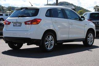 2014 Mitsubishi ASX XB MY14 Aspire 2WD White 6 Speed Constant Variable Wagon.