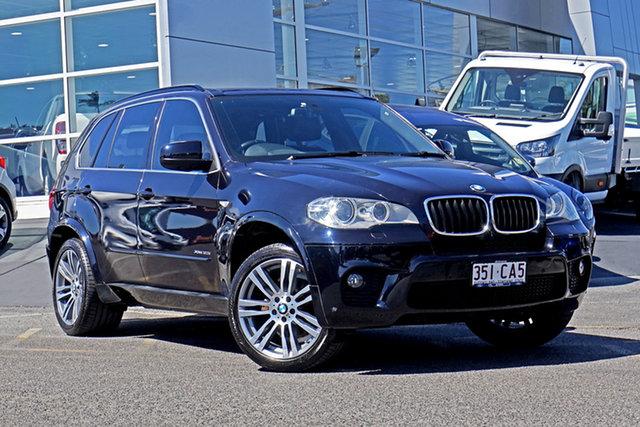 Used BMW X5 E70 MY1112 xDrive30d Steptronic Springwood, 2013 BMW X5 E70 MY1112 xDrive30d Steptronic Black 8 Speed Sports Automatic Wagon