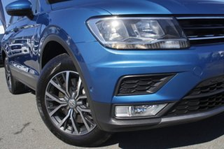 2016 Volkswagen Tiguan 5N MY17 132TSI DSG 4MOTION Comfortline Caribbean Blue/cloth 7 Speed.