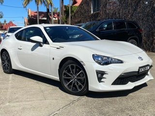 2020 Toyota 86 ZN6 GTS White Liquid 6 Speed Manual Coupe.