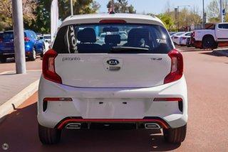 2021 Kia Picanto JA MY21 GT-Line White 4 Speed Automatic Hatchback.