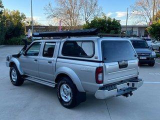 2008 Nissan Navara D22 MY2008 ST-R Silver 5 Speed Manual Utility