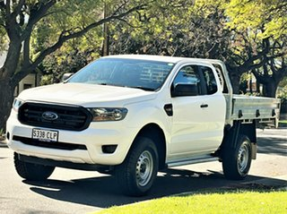 2019 Ford Ranger PX MkIII 2019.00MY XL White 6 Speed Manual Single Cab Chassis.