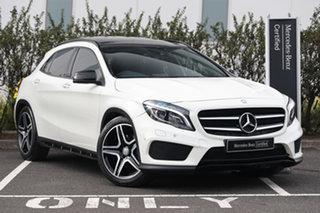 2015 Mercedes-Benz GLA-Class X156 805+055MY GLA250 DCT 4MATIC White 7 Speed.