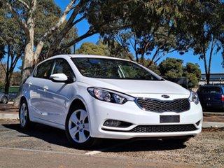 2015 Kia Cerato YD MY15 S White 6 Speed Sports Automatic Hatchback.