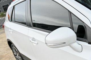 2014 Suzuki S-Cross JY GLX White 7 Speed Constant Variable Hatchback.