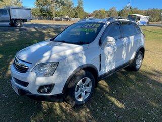 2012 Holden Captiva CG Series II 5 White 6 Speed Sports Automatic Wagon.