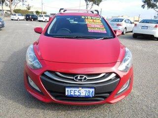 2013 Hyundai i30 GD Elite Tourer Red 6 Speed Sports Automatic Wagon.