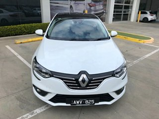 2017 Renault Megane LFF Intens EDC White 7 Speed Sports Automatic Dual Clutch Sedan.