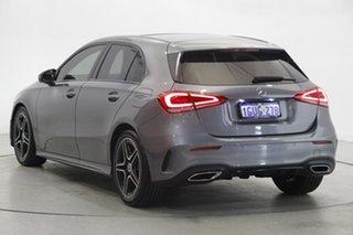 2019 Mercedes-Benz A-Class W177 A180 DCT Grey 7 Speed Sports Automatic Dual Clutch Hatchback.