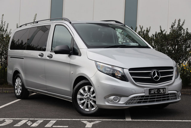 Certified Pre-Owned Mercedes-Benz Valente 447 116BlueTEC 7G-Tronic + Mulgrave, 2018 Mercedes-Benz Valente 447 116BlueTEC 7G-Tronic + Silver 7 Speed Sports Automatic Wagon