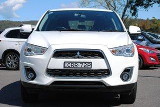 2014 Mitsubishi ASX XB MY14 Aspire 2WD White 6 Speed Constant Variable Wagon