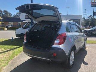 2014 Holden Captiva Silver Automatic Wagon.