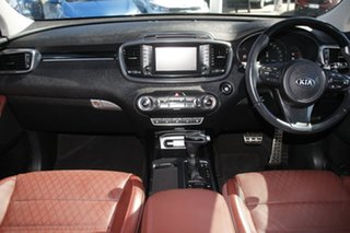 2017 Kia Sorento UM MY18 GT-Line AWD Platinum Graphite/red 8 Speed Sports Automatic Wagon