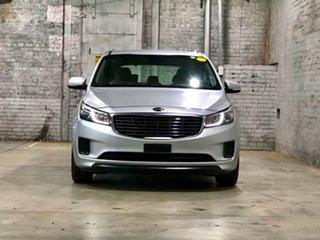 2018 Kia Carnival YP MY18 S Silver 6 Speed Sports Automatic Wagon.