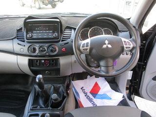 2014 Mitsubishi Triton MN MY15 GLX (4x4) Black 5 Speed Manual Dual Cab