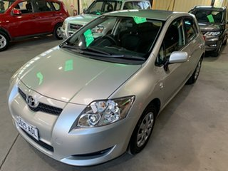 2009 Toyota Corolla ZRE152R Ascent Silver 6 Speed Manual Hatchback