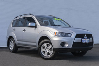 2011 Mitsubishi Outlander ZH MY11 LS 2WD 6 Speed Constant Variable Wagon.