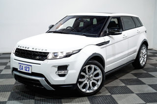 2013 Land Rover Evoque LV MY13 TD4 Dynamic White 6 Speed Automatic Wagon.