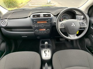 2015 Mitsubishi Mirage LA ES White Constant Variable Hatchback