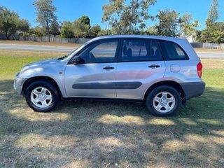 2001 Toyota RAV4 ACA21R Edge Silver 5 Speed Manual Wagon