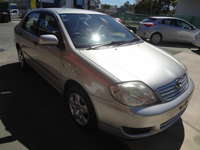 Used Toyota Corolla ZRE152R Ascent Coopers Plains, 2007 Toyota Corolla ZRE152R Ascent Silver 4 Speed Automatic Sedan