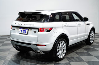 2013 Land Rover Evoque LV MY13 TD4 Dynamic White 6 Speed Automatic Wagon