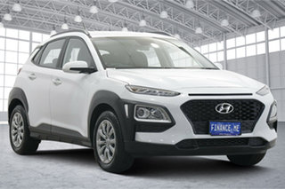 2020 Hyundai Kona Go 2WD White 6 Speed Sports Automatic Wagon.