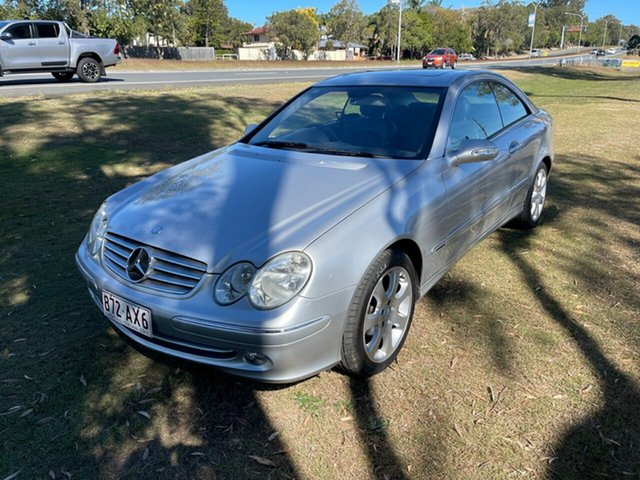 Used Mercedes-Benz CLK-Class A209 CLK240 Elegance Clontarf, 2004 Mercedes-Benz CLK-Class A209 CLK240 Elegance Silver 5 Speed Automatic Cabriolet