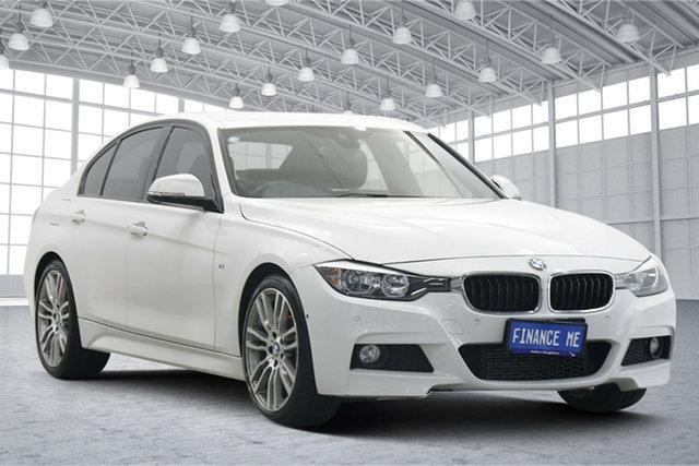 Used BMW 3 Series F30 MY1114 320d M Sport Victoria Park, 2014 BMW 3 Series F30 MY1114 320d M Sport White 8 Speed Sports Automatic Sedan