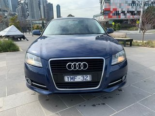 2011 Audi A3 8P MY12 Ambition Sportback S Tronic Blue 7 Speed Sports Automatic Dual Clutch Hatchback.