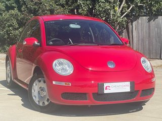 2008 Volkswagen Beetle 9C MY2008 Miami Coupe Red 6 Speed Sports Automatic Liftback.