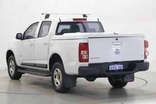 2014 Holden Colorado RG MY14 LX Crew Cab 4x2 White 6 Speed Sports Automatic Utility.