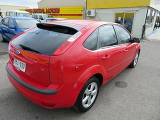 2005 Ford Focus LX Red 4 Speed Automatic Hatchback