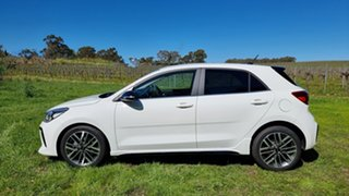 2021 Kia Rio YB MY22 GT-Line DCT Clear White 7 Speed Automatic Hatchback