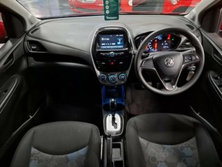 2015 Holden Spark MP MY16 LS Red 1 Speed Constant Variable Hatchback