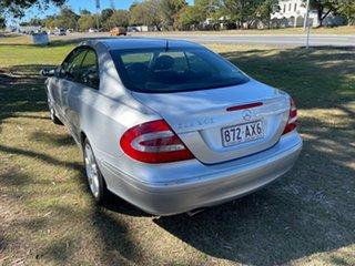2004 Mercedes-Benz CLK-Class A209 CLK240 Elegance Silver 5 Speed Automatic Cabriolet