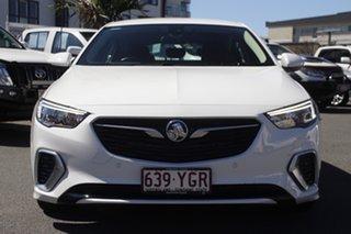 2018 Holden Commodore ZB MY18 RS-V Liftback AWD White 9 Speed Sports Automatic Liftback.