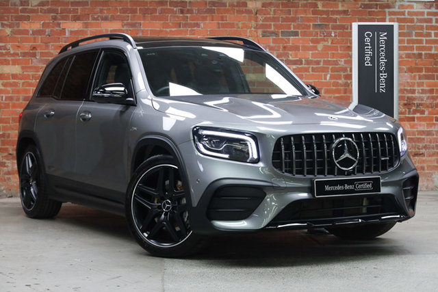 Certified Pre-Owned Mercedes-Benz GLB-Class X247 801MY GLB35 AMG SPEEDSHIFT DCT 4MATIC Mulgrave, 2020 Mercedes-Benz GLB-Class X247 801MY GLB35 AMG SPEEDSHIFT DCT 4MATIC Mountain Grey 8 Speed