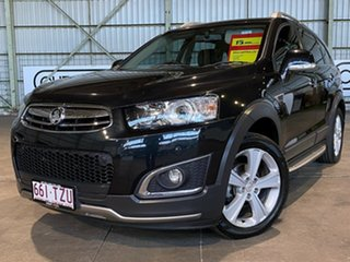 2014 Holden Captiva CG MY15 7 AWD LTZ Black 6 Speed Sports Automatic Wagon.