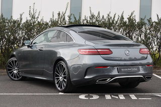 2020 Mercedes-Benz E-Class C238 801MY E300 9G-Tronic Selenite Grey 9 Speed Sports Automatic Coupe.