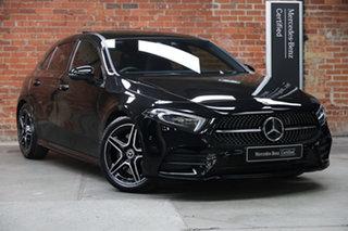 2019 Mercedes-Benz A-Class W177 A250 DCT 4MATIC Obsidian Black 7 Speed Sports Automatic Dual Clutch.