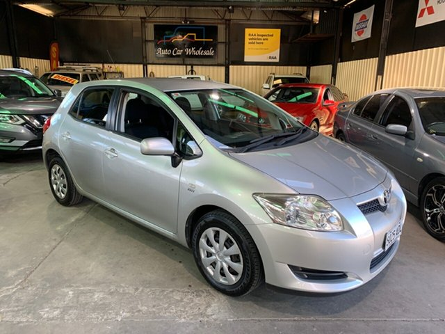 Used Toyota Corolla ZRE152R Ascent Hampstead Gardens, 2009 Toyota Corolla ZRE152R Ascent Silver 6 Speed Manual Hatchback