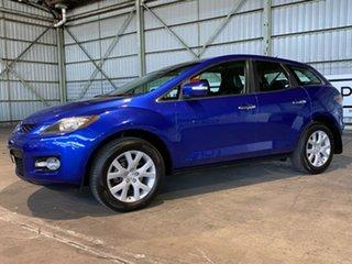 2007 Mazda CX-7 ER1031 MY07 Luxury Blue 6 Speed Sports Automatic Wagon.